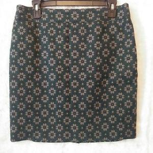 Loft Outlet Petite Floral Skirt